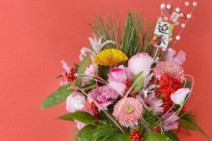 さあ、2019年。お正月に縁起の良い花を飾って新たな年を迎えよう。