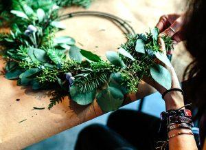 ナチュラルリースの作り方!季節の手作りリースデザイン21選