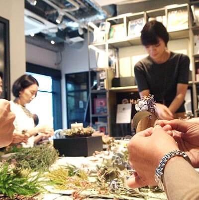 紫陽花ドライリース・ワークショップ 【 2019年6月23日(日) 事前申込み】@西麻布オフィス