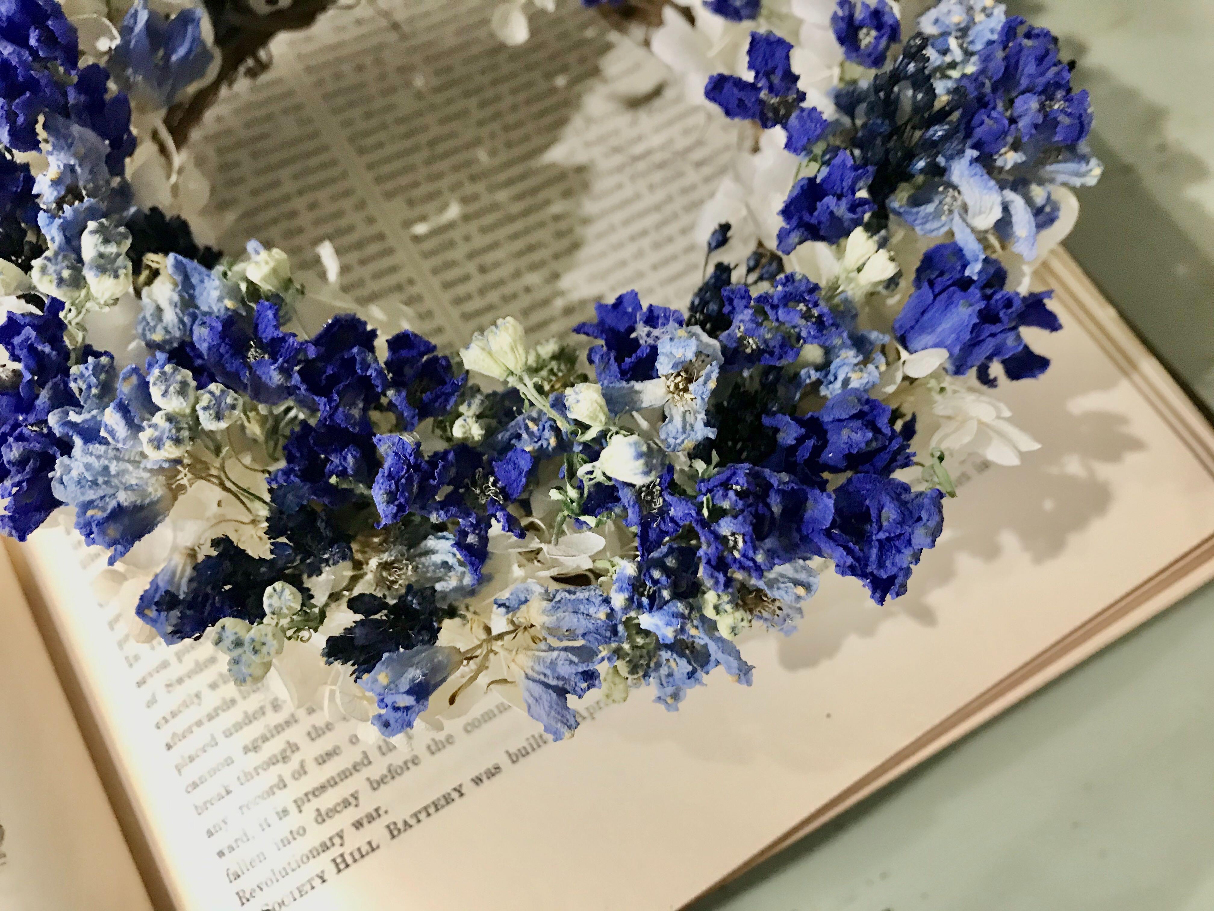 【Spring】ロイヤルブルーのミニリース