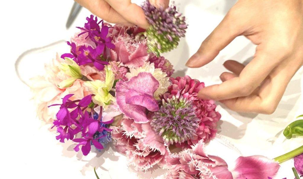 [伝えたいこと]私たちが花のマスクを作った理由。
