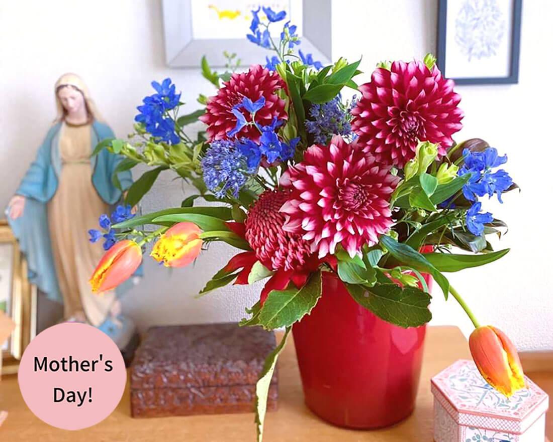 母の日2020 人気プレゼントは『こだわり花束』